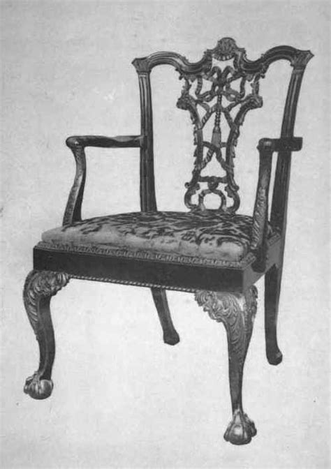 chippendale armchair taste and trade