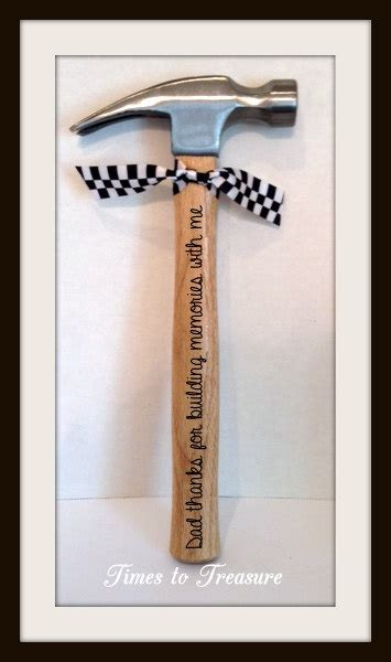 personalized hammer fathers day gift gift for by