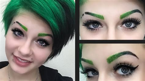 cat tattoo eyebrows ombre eyebrows tutorial heythereimshannon youtube