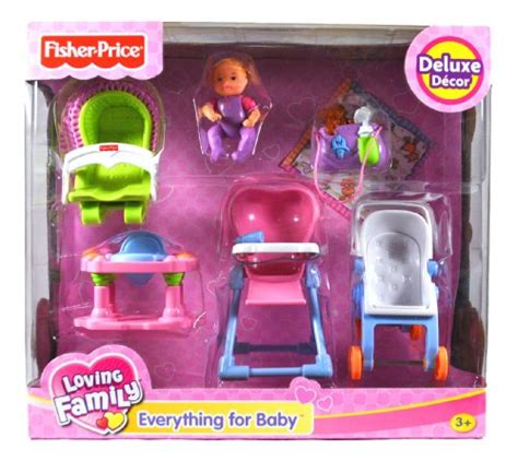 Fisher Price Loving Family Everything Fisher Price Loving Family Dollhouse Deluxe Decor