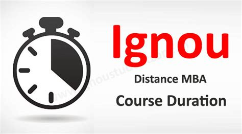 Mba Duration by Ignou Student Zone Distance Learning