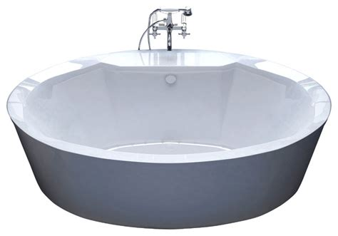venzi sole 34x68 oval freestanding air jetted bathtub
