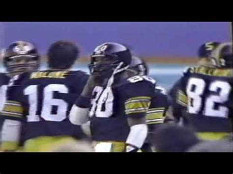 san diego charger highlights 1984 pittsburgh steelers vs san diego chargers highlights