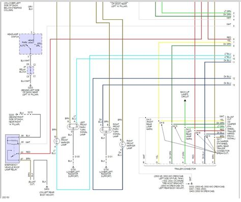 2005 chevy silverado light wiring diagram chevy