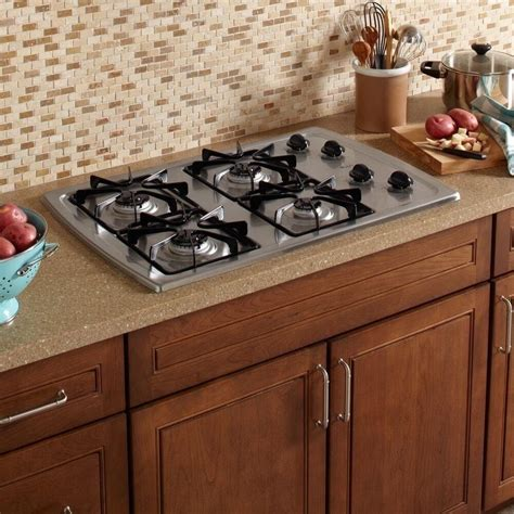 30 inch gas cooktop whirlpool 30 inch stainless steel gas cooktop cooking