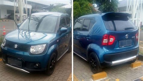 Suzuki Ignis List Kaca Belakang Krom Jsl Rear Window Trim Chrome setelah indonesia suzuki ignis untuk pasar eropa ikut bersolek