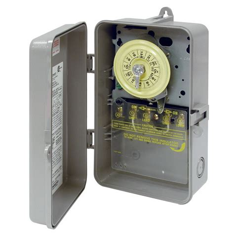 intermatic t101p 24 hr dial time switch 125 volt