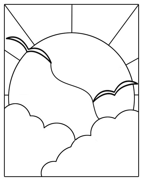 stained glass templates stained glass patterns for free