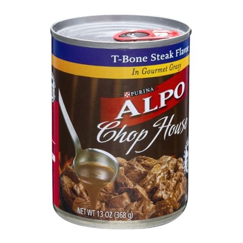 alpo chop house dog food purina alpo dog food chop house t bone steak flavor 13 oz prestofresh grocery delivery