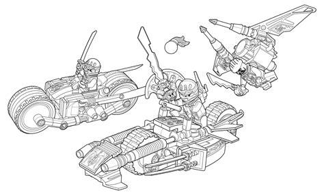 lego motorcycle coloring page раскраска lego ниндзяго мастера кружитцу погоня на