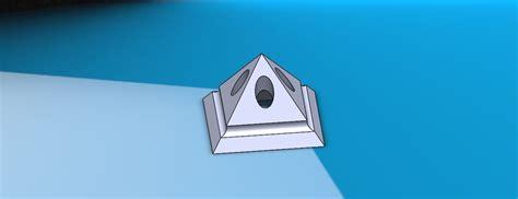 printable model pyramid  holder cgtrader