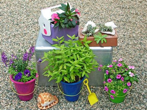 Unique Container Gardening Ideas Stunning Low Budget Container Gardens Hgtv