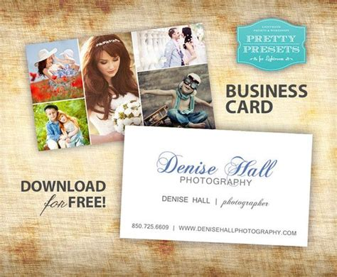 free business card for photographers to be the words