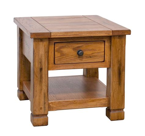 oak accent tables rustic oak end table oak end table rustic end table oak