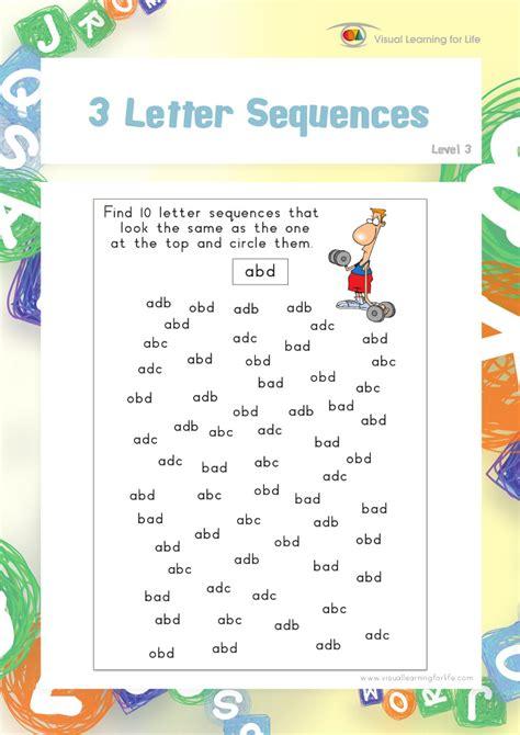 4 Letter Words Visual word path 1 teach in a box