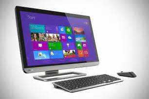 All In One Desk Top Computer Toshiba Px35t All In One Touchscreen Desktop Pc Mikeshouts
