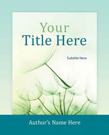 book covers design templates free book cover design sles search engine at