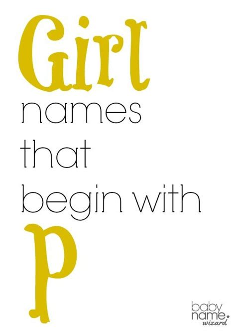 names that start with p names starting with p that includes meanings origins popularity pronunciations