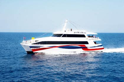 catamaran ferry tickets lomprayah thailand buses guides busonlineticket co th