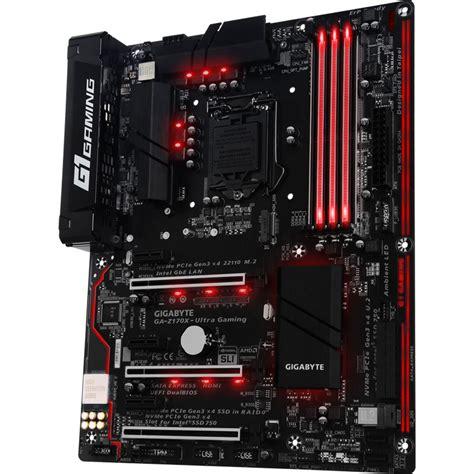 Gigabyte Z270x Ultra Gaming Intel Socket 1151 Kaby Lake Series gigabyte ga z170x ultra gaming lga 1151 ga z170x ultra gaming