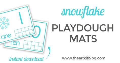 printable winter playdough mats winter playdough kit and playdough mats the art kit
