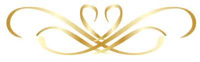 Gold Flower Hair Clip - gold ribbon png ribbons and banners gold and pictures to