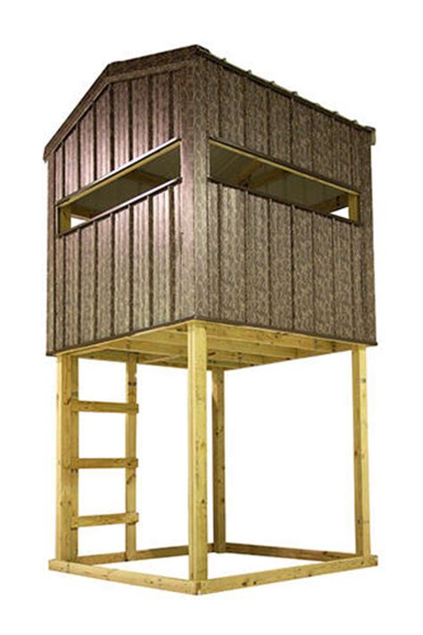 Molded Deer Blinds Midwest Manufacturing 6 W X 6 D Hunting Blind At Menards 174