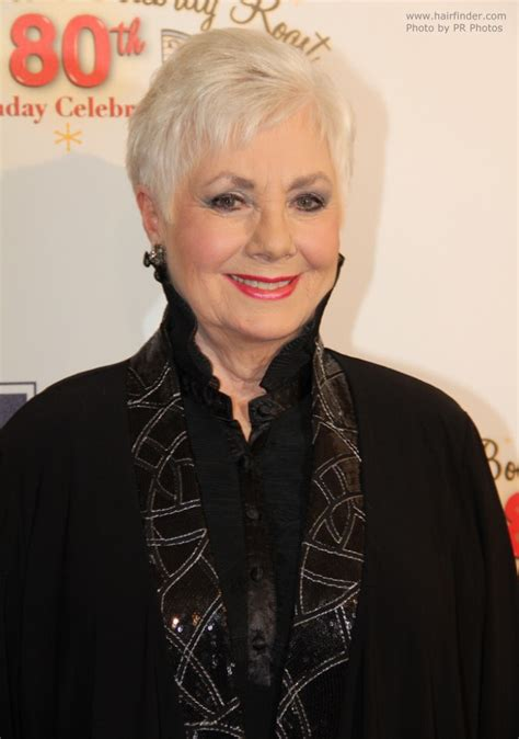 shirley jones haircuts 80 years old shirley jones practical pixie hairstyle for