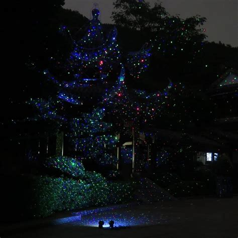 Landscape Laser Lights Waterproof New Year Garden Laser Light Rgb Firefly Static Lights Projector