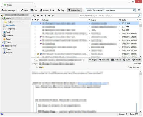 mozilla thunderbird themes for windows 8 mozilla thunderbird 31 what s new softpedia