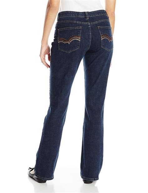 Lee Womens Jeans Comfort Fit Barely Bootcut Jean Stretch
