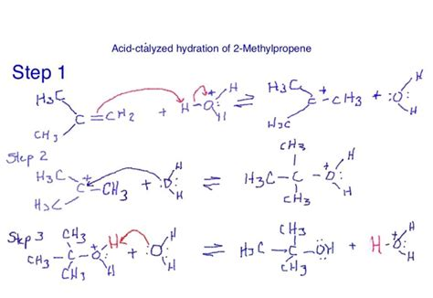 hydration reaction mechanism chapter 11 reactions organic chemistry 140b