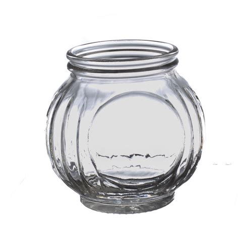 Glass Vase Fillers by Ribbed Glass Jar Vase And Bowl Fillers Home Decor