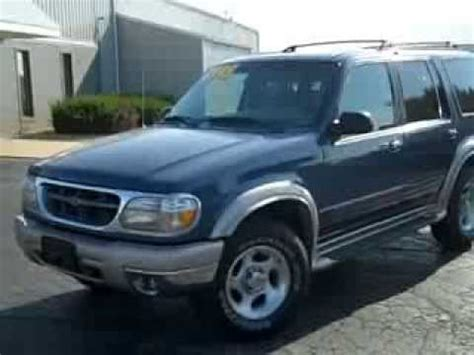 1999 ford explore review 1999 ford explorer eddie bauer review stock 812103 mendota ford youtube
