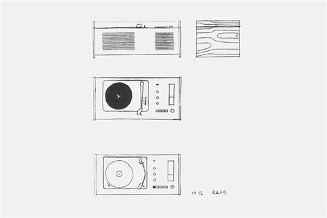 Radio 4 Sketches by Braun Sk55 Minimally Minimal