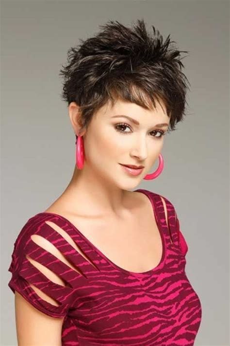 spiked long shaggy haircuts 100 best short haircuts for round faces and thin hair