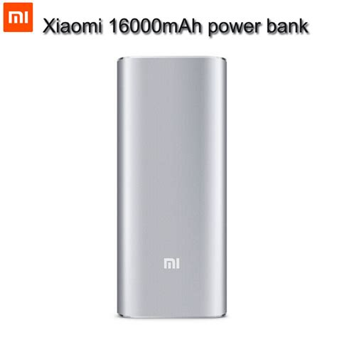 Power Bank Xiaomi 16000 portable battery pack for cell phones lookup beforebuying