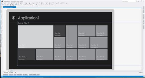 windows 10 xaml tutorial windows 8 wrapping floating items in gridview xaml