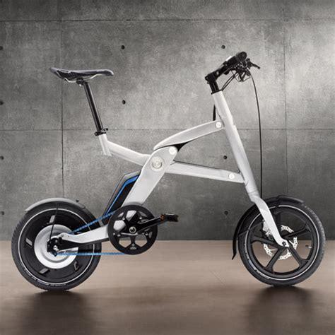 bmw i pedelec bmw i pedelec concept folding electric bike green
