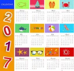 Calendario 2017 Colombia Vector Calendarios 2017 En Vector Recursos Web Seo