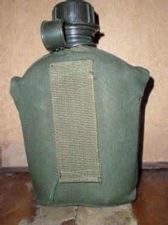 Velpes Botol Minum Army webbingbabel army plastic canteen botol