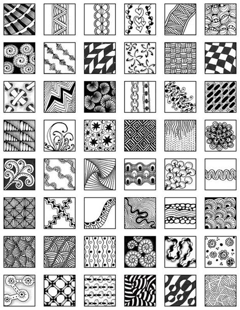 exles of pattern in art zentangle pattern exles artistic visual reference