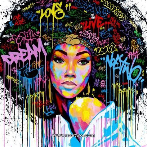 dream afro art street art graffiti art