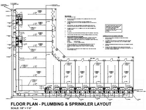 Floor Plan With Plumbing Layout by Plumbing Drawings Building Codes Northern Architecture