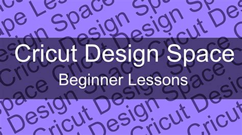 design my space cricut design space beginner course michellemybelle