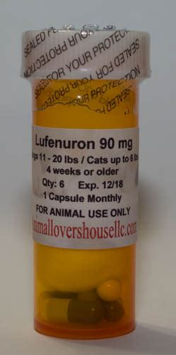 lufenuron for dogs lufenuron 6 month supply for cats dogs animal house llc