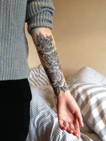 25 best ideas about flower arm tattoos on pinterest arm