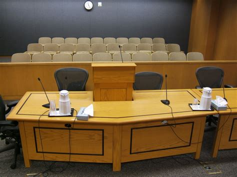 courtroom tables alaska woodcrafters