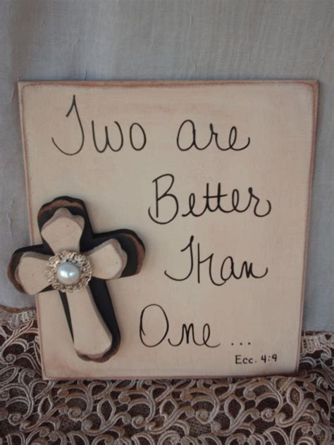 Rustic Bible Verse Wedding Sign and Decor   Best Religion