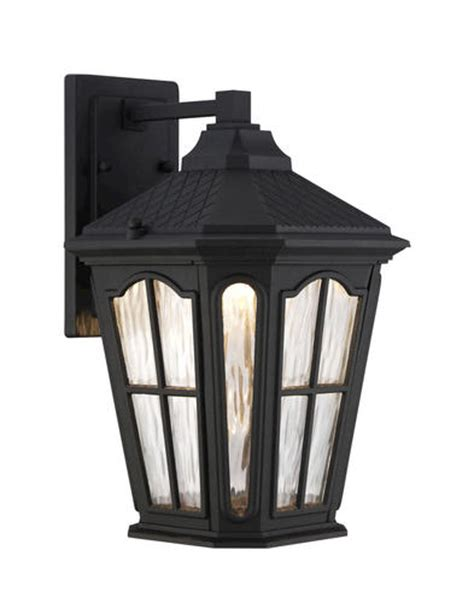 Patriot Outdoor Lighting Patriot Lighting Samuel 14 25 Black Led Wall Light At Menards 174